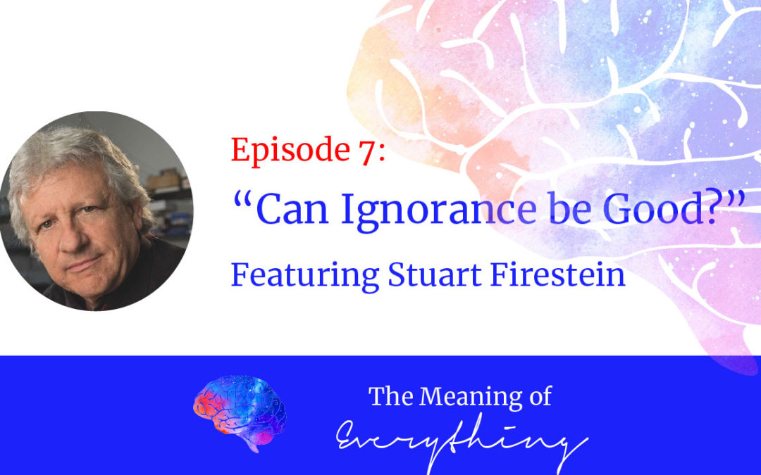 #7: Can Ignorance be Good? with Stuart Firestein