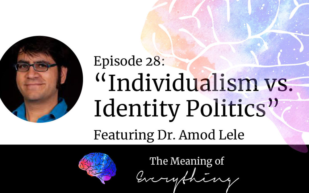 #28: Individualism vs Identity Politics with Amod Lele